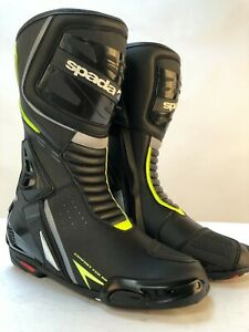 Spada-Curve-Evo-style-Leather-Motorcycle-Boots-Sports-black-fluo-43-9