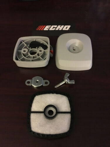 Filter cover Wing nut /& Filter New OEM Parts Echo Air cleaner case