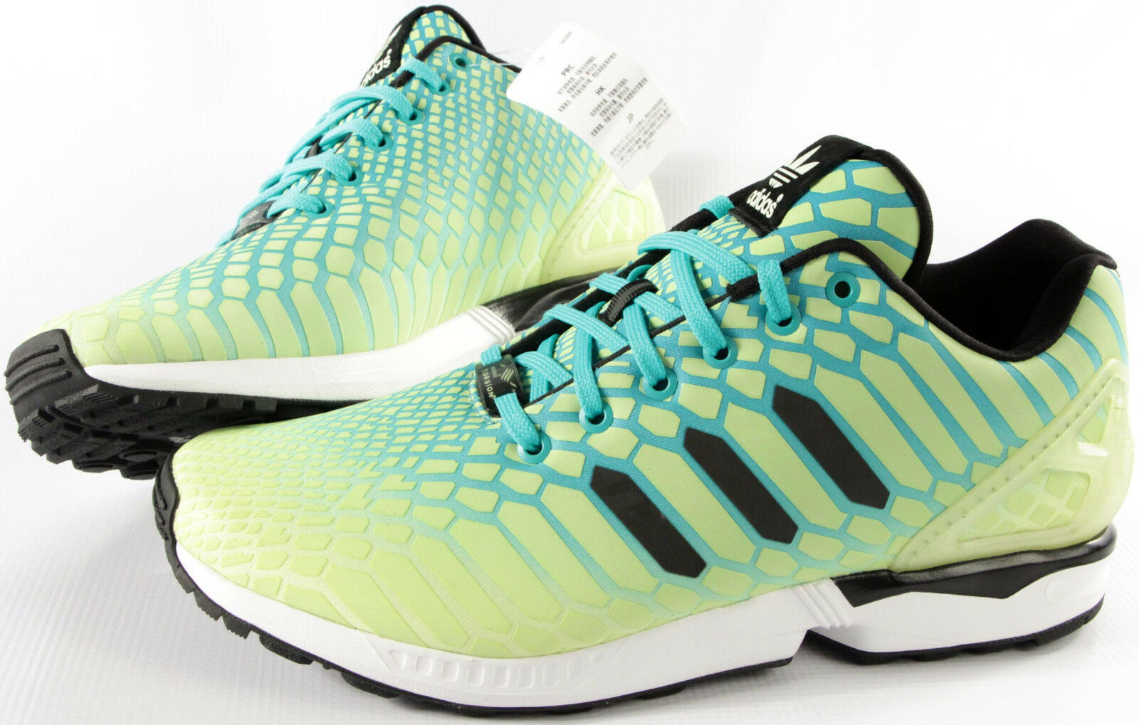 ADIDAS Originals ZX FLUX Xeno shoes-NEW-classic GLOW retro running sneakers-