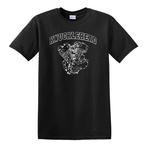Harley Davidson Biker KNUCKLEHEAD Engine T-SHIRT