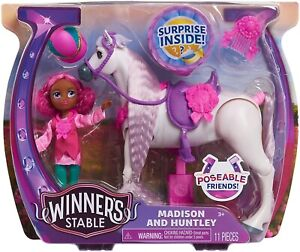 Winner-039-s-Stable-Doll-and-Horse-11-Piece-Set-Madison-amp-Huntley-New-for-2021