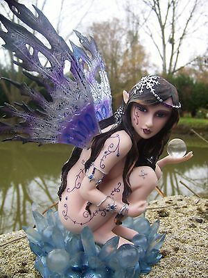 15242 Grande Statuette Figurine Fee Fairy Heroic Fantasy Gm Les Alpes Fees
