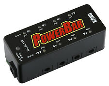 """KONG """"Power-Bar"""" Stromversorgung für Gitarren- oder Bass-Effekte Power-Supply"""