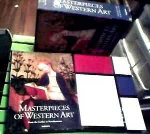 MASTERPIECES-of-WESTERN-ART-2-vol-set-900-Individual-Studies-SET-IN-SLIPCASE