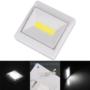 Portable 5 COB LED Night Light Flashlight Magnetic White ...