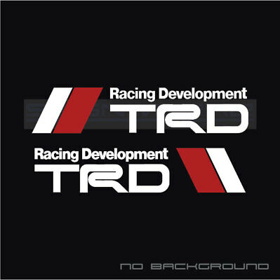 TRD Sport decal tuning racing jdm toyota rcf isf lexus frs scion f sport Pair