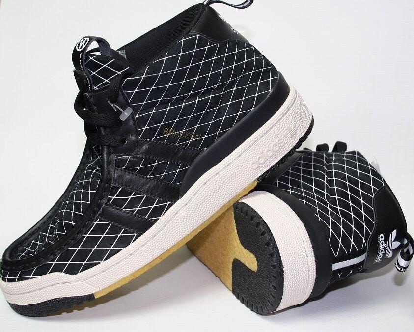 Adidas originales masculino Bracken deportes negro Depleted Code UK 7 RRP - 99