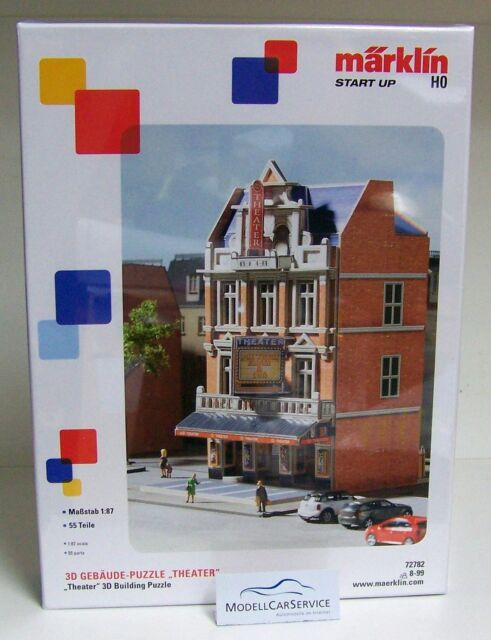 "Märklin Démarrer Up 1/87 (H0): #72782 3D Gebäude-puzzle "" Théâtre """
