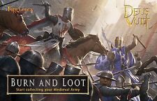 NEW NEW NEW FIREFORGE GAMES DEUS VULT BL002 BURN AND LOOT STARTER KIT
