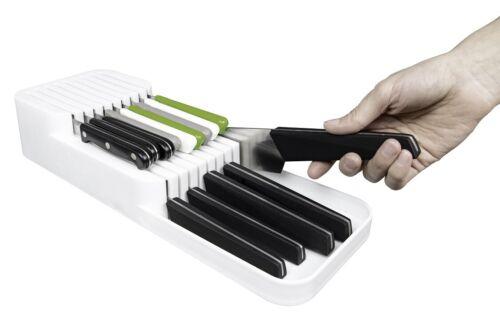 Messerblock Organizer Küchenmesser Messerhalter Schubladeneinsatz Küche Messer