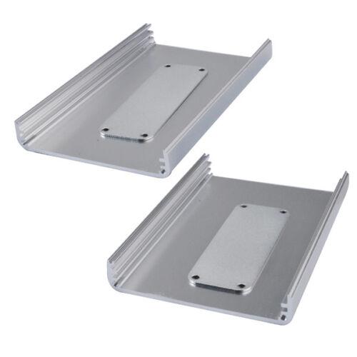 Aluminum Box Enclosure Case Electronic Project Box DIY 26x71x110mm H*W*L