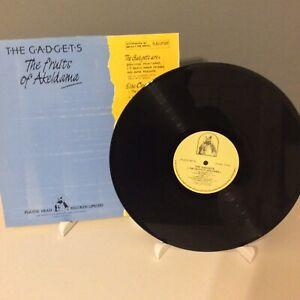 The-Gadgets-The-Fruits-Of-Akeldama-UK-1986-Vinyl-LP-PLASLP007-Mint-UNPLAYED