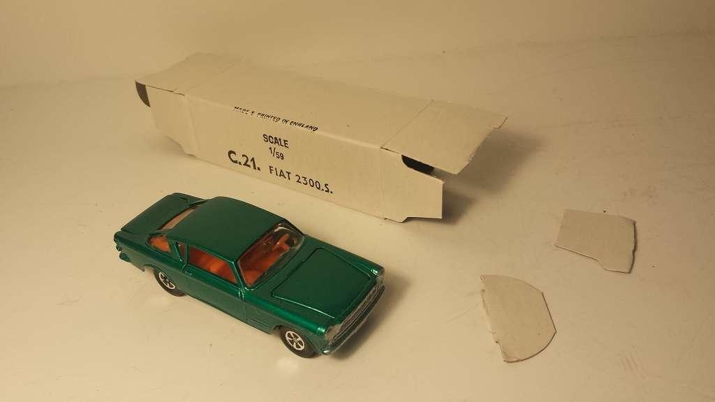 Impy Lonestar Flyers Fiat 2300 Mint Boxed estados unidos exportación Box