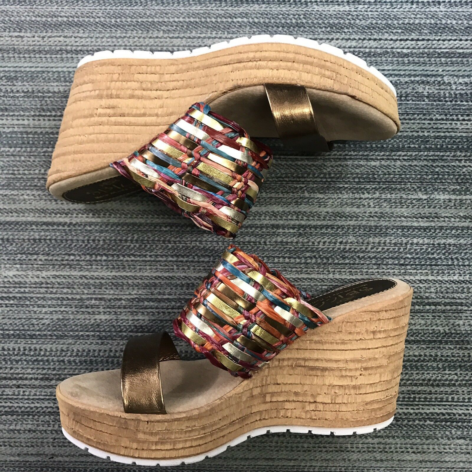 SBICCA WOMENS WEDGE SANDALS SIZE 8M