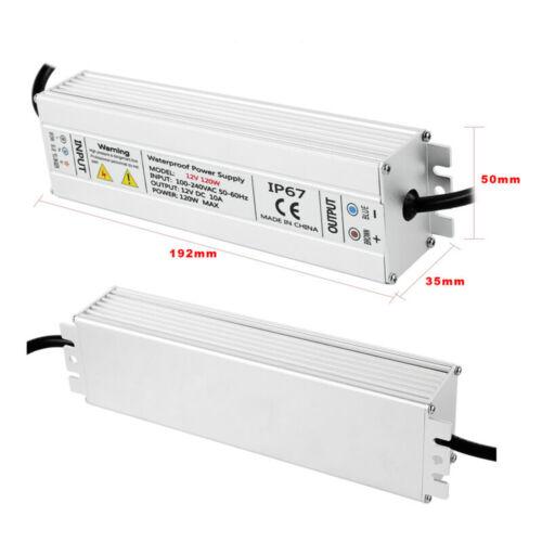 DC12V LED Transformer Power Supply Waterproof IP67 for Strip 80W-200W