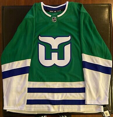 ADIDAS Authentic On Ice Hartford Whalers Jersey Brand New w/Tags ...