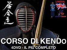 Videocorso Kendo (4 DVD) The Aikido Sword Katana Giapponese Scherma Spada