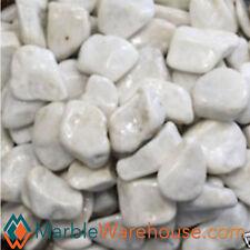 Marble Decorative Landscape Gravel white Stone tile Backyard