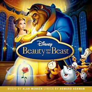 Cd Beauty And The Beast 1991 Original Soundtrack English Japanese Edition 4988064632008 Ebay