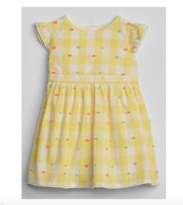 babyGap Stripe eyelet flutter dress NWT 6-12m 3-6m NNN