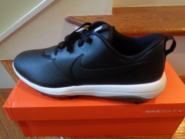 Mens Golf Shoe Nike Roshe G Tour Size 12 Medium Black White Ar5580 001 For Sale Online Ebay
