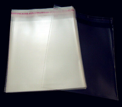 Free Lots AAA Wholesale Clear Self Adhesive Plastic Bags Bulk Package Multi size