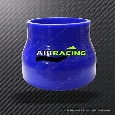 REDUCTEUR AIR RACING SILICONE TRIPLE COUCHE HOSE REDUCER 76MM/>90MM DURITE DROIT