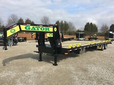 3010 Gator Gooseneck Hot Shot Hydraulic Dovetail Trailer With Air Ride