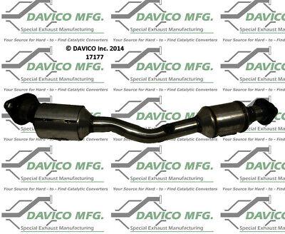Catalytic Converter-Exact-Fit Rear Davico Exc CA fits 07-12 Nissan Versa 1.8L-L4