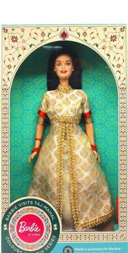 Barbie in India New Visits Taj Mahal