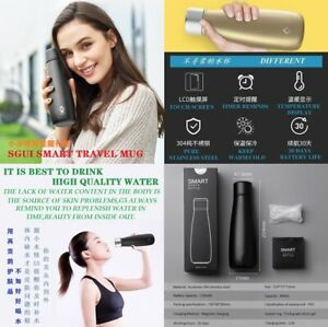 New-400ml-Smart-Intelligent-Water-Bottle-Stainless-Steel-Smart-Drinking-Bottle