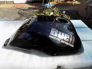 HARLEY-DAVIDSON-BUELL-2000-S3T-BLACK-FUEL-INJECTED-TANK-VERY-NICE-CONDITION