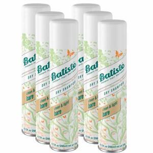 6 Pack - Batiste Dry Shampoo, Bare, 6.73 Oz (200ml) Each