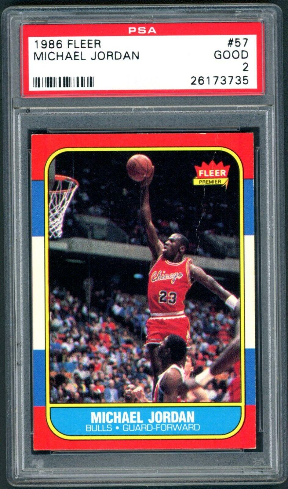 Michael Jordan 1986-87 Fleer