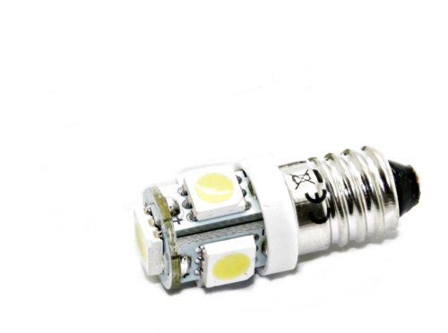 E10 LED 6V 12V weiß blau rot grün Schraubsockel Herrnhuter Stern Beleuchtung