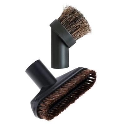 Detachable Dusting Brush Bristle Horsehair Vacuum Attachment Head-32mm Connector