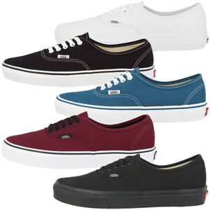 Vans-Authentic-Classic-Scarpe-Unisex-Sneaker-skate-molti-colori