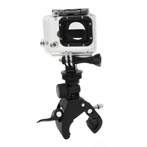 Reusable Handlebar Clamp Roll Bar Mounts+Tripods Adapter For Go pro Hero1 2 3 GN