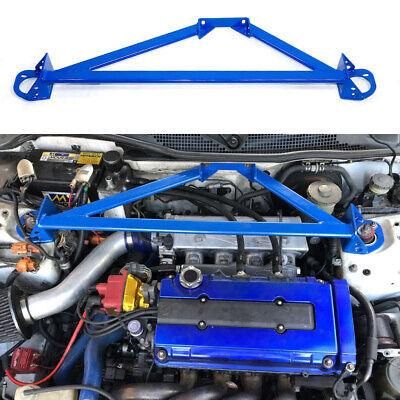 93-97 Honda Civic Del Sol Upper Strut Tower Bars Brace 2 pieces Front Rear