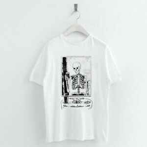Harajuku-Skelfie-Skull-Print-Women-T-Shirts-O-neck-Short-Sleeve-Summer-Tops