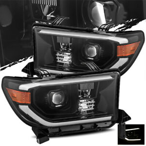 For 2007-2013 Toyota Tundra/2008-2013 Sequoia Mid-Night Black Projector
