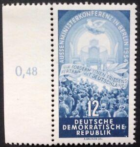 DDR-1954-1-Marke-Aussenministerkonferenz-in-Berlin-postfrisch-Mi-424