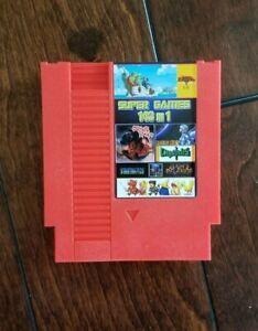 Super Games 143 in 1 Nintendo NES Cartridge Multicart US SELLER
