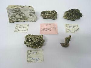 5 Mineralien Wolframit Pyrit