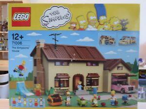 Lego The Simpsons - 71006 La Maison Des Boite Abimée Voir Photos