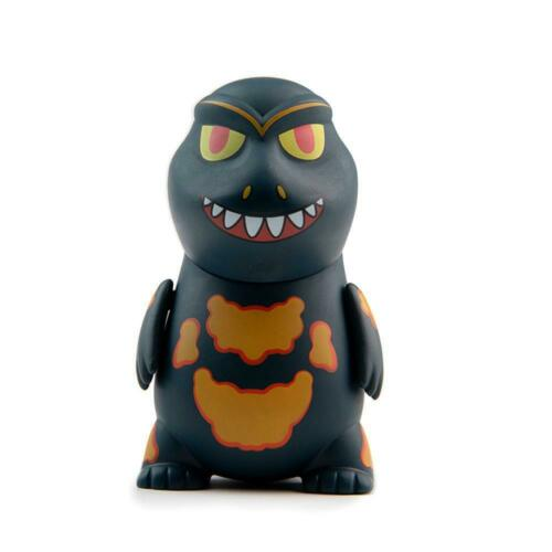 """Kidrobot Godzilla Mini Series 3/"""" Mini Figure Brand New Burning Godzilla"""