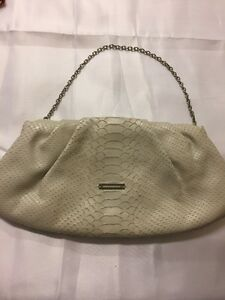 Bcbg Bag Night Beige Leather Purse Women ZOwPuTlkiX