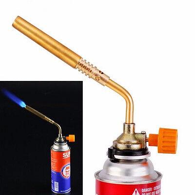 New Butane Gas Flame Torch Blow Burner Welding Solder BBQ Soldering Lighter