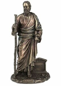 12-034-Greek-Philosopher-Socrates-Figurine-Sculpture-Decoration-Statue
