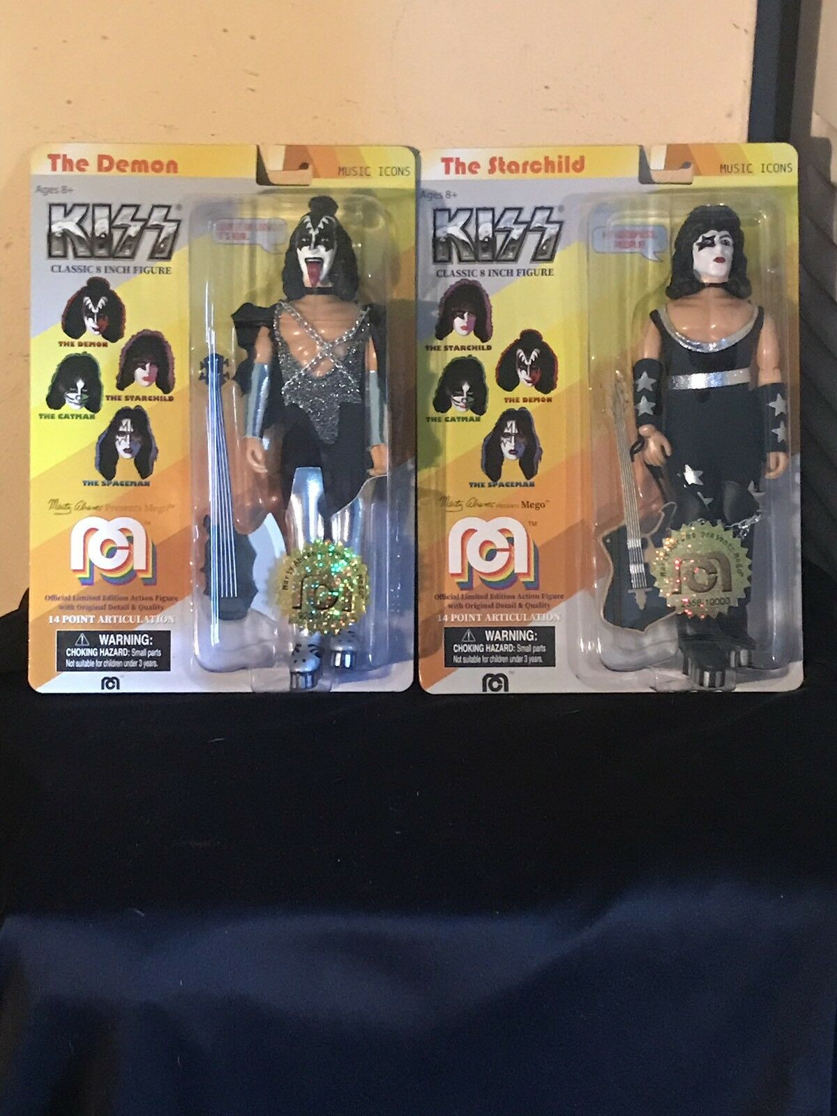 Mego kuss gene simmons & paul stanley ein exclusives